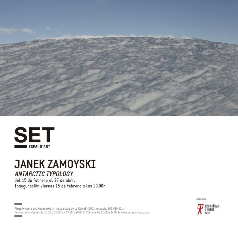 Wystawa fotografii Antarctic Typology  -Janek Zamoyski (15 lutego - 27 kwietnia)