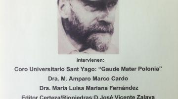 La presentación de la biografía de Janusz Korczak, 30 de noviembre en Ateneo Marítimo de Valencia