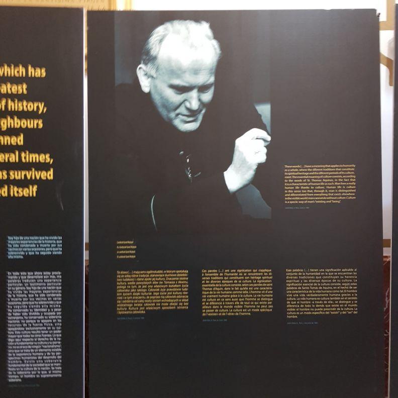 Wystawa Jan Paweł II - Człowiek i Kultura