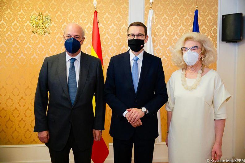 Reunión del Primer Ministro de Polonia con empresarios valencianos en la Embajada de Polonia en Madrid